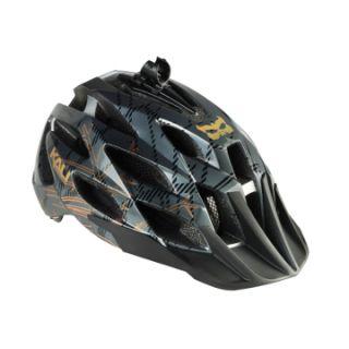 Kali Protectives Amara Bike Helmet w Camera Mount Black Gray M L New