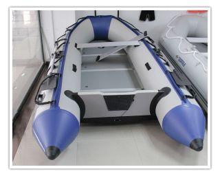 Fishing Boat PVC 0 9mm Raft Water Sports with Aluminium Floor