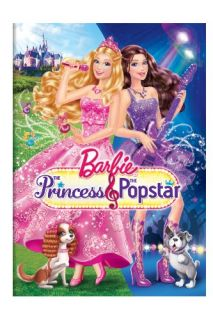 Barbie The Princess The Popstar DVD 2012 Kelly Sheridan Jennifer Waris