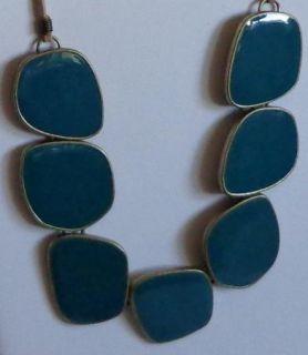 New Lia Sophia ia Jungle Green Necklace NWOT **