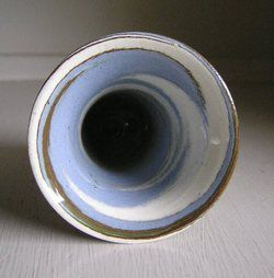 Early Desert Sands Mini Mission Swirl Vase Hand Made by Ferrell Evans