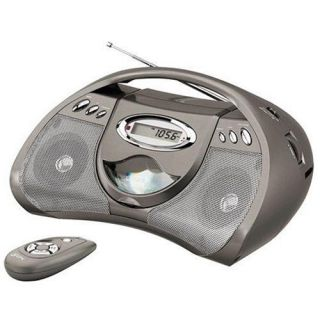 GPX Portable CD Player with Am FM Radio Remote  New