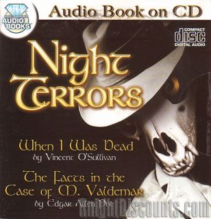16x Scary Horror Stories Audio Books on 8x CDs Bulk New