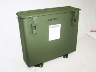 Am General M939 Military Latched Map Compartment Box 12257065 Steel