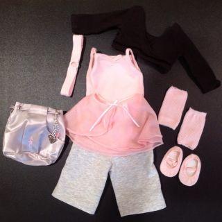 Retired American Girl Doll 2 in 1 BALLET Ballerina Outfit Huge Lot
