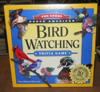 NORTH AMERICAN BIRD WATCHING TRIVIA GAME 3 Different Skill Levels MIB