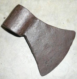 Early 18th C Native American Trade Axe Tomahawk NR! Early Metalware Ax