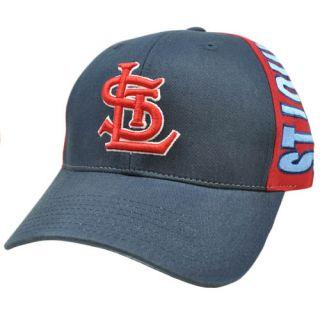Louis Navy Dark Light Blue Red Snapback American Needle Hat Cap