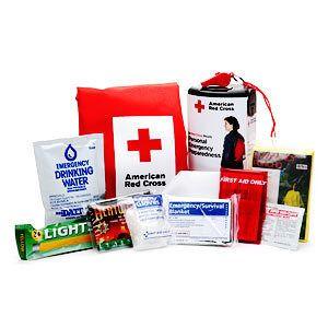 American Red Cross Personal Emergency Preparedness, First Aid Kit 1 ea