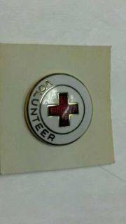 American Red Cross Pin Volunteer Vintage