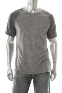 Alternative Apparel New Gym Rat Gray Short Sleeve T Shirt L BHFO