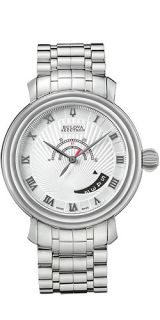 New Mens Bulova Accutron 63B023 Amerigo Swiss Made Automatic Watch
