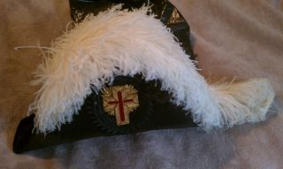 Early 1900s Knights Templar Masonic Hat The Henderson Ames Co