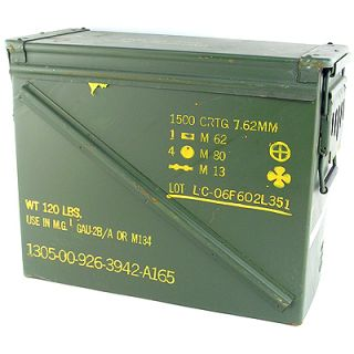Large Military Ammo Cans Dry Box 8x14.5x17.5