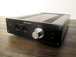 Shanlin PH300 Stereo Tube Pre Amp Headphone Amplifier Pus