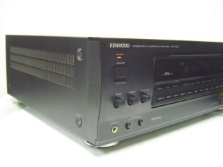 Kenwood Ka V7500 Integrated AV Surround Amplifier Works