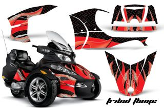 AMR Racing Spyder kits are made from Thick Motocross quality vinyl