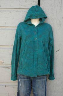 VOLCOM Hoodie Hooded Sweatshirt Cover jacket Gathered Partial Snap