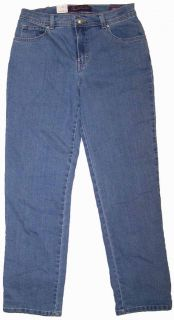 Gloria Vanderbilt Amanda Classic Stretch Jeans   Bahama Wash NWT