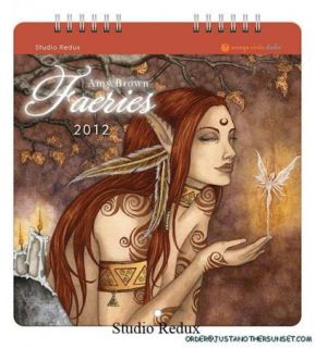Amy Brown Small Calendar Fairy Faery Fantasy 2012 New