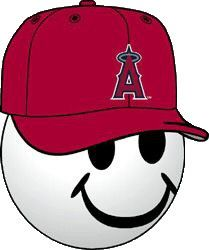 anaheim angels mlb baseball cap antenna topper