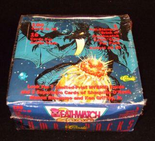 1993 Classic Deathwatch 2000 Jumbo Trading Card Box