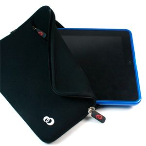 Water Resistant HP Touchpad Tablet Case Sleeve Travel Pouch Bag Black