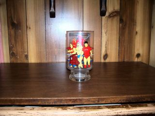 WWE WWF Collectors Glass Hulk Hogan Andre The Giant Piper