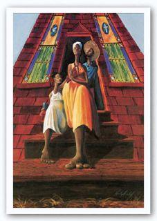 African American Art Family Fellowship John Holyfield