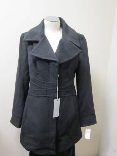 Andrew Marc Cherish Walker Wool Coat Black $397
