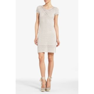 BCBG Max Azria Amery Crochet Yoke Dress XS s L Free SHIP