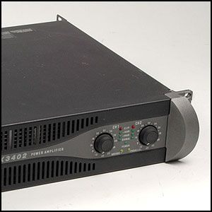 QSC PLX3402 Professional 2 Channel Power Amplifier • 3400W • Rack