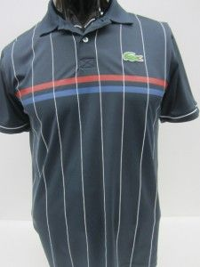 6b94d6ce0 ... NWT  95 Lacoste Mens Andy Roddick Striped Polo Sz s Lacoste Tennis ...