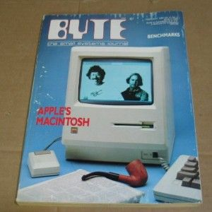 BYTE Magazine February 1984 APPLE MACINTOSH Creators Steve Jobs & Team