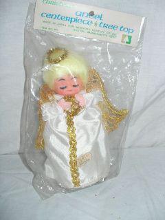 Vintage New NIP Christmas Tree Topper Angel Bradford Novelty 8