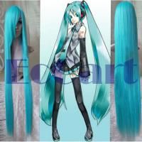 Vocaloid Hatsune Miku Party Green Blue 40Cosplay Wig