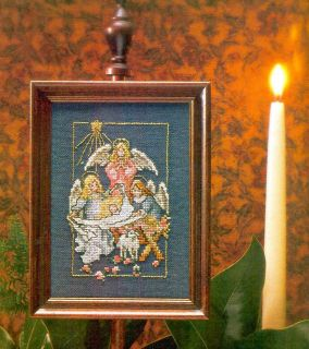 ANGEL NATIVITY   Cross Stitch Pattern by Donna Vermillion Giampa