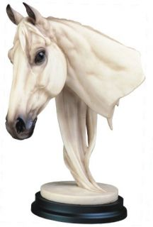 Horse Head Collectible Animal Figure Pony Statue Model