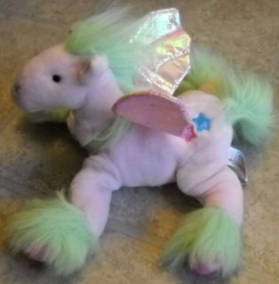 Animal Alley Stuffed Plush Pink Pony Horse w Wings
