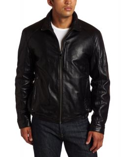 Marc New York by Andrew Marc Mens Lewis Leather Jacket Large or XX