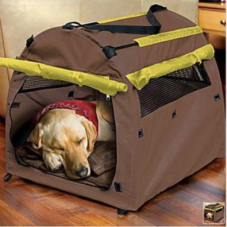Animal Planet Dog Pet Kennel Tent Carrier House Crate