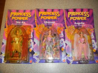 1984 Princess of Power She RA Angella and Glimmer Lot Mou
