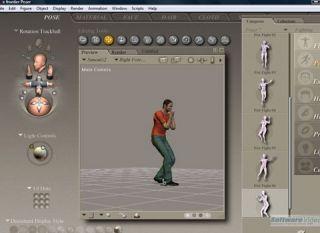 Smithmicro Poser 7 Training DVD Video Tutorials Animation Modeling