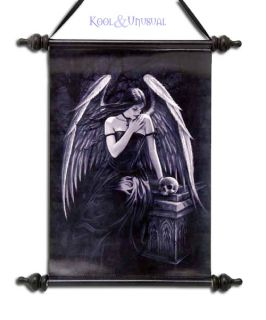 Anne Stokes Wall Art Scroll Lost Soul Gothic Angel