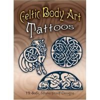 Henna Celtic Body Art Tattoos 12 Safe Waterproof Design