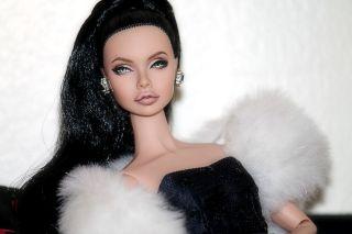 Poppy Parker OOAK Doll Angelina Jolie Repaint Lisa Ramsammy Fashion