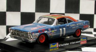 Mint 1967 Ford Fairlane 11 Mario Andretti Revell Slot Car 4895