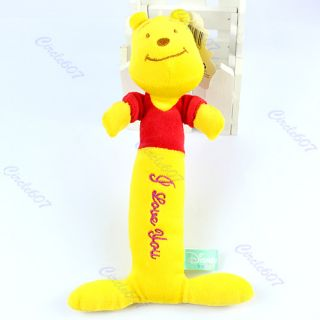 1pcs Baby Disney Animal Model Catoon Hand Bell Straight Rattles Kid