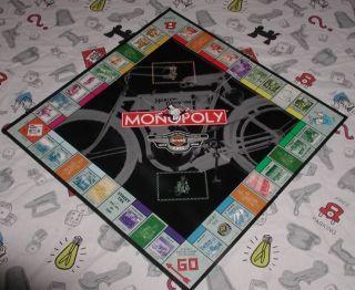 Harley Davidson 95th Anniversary Monopoly Board
