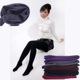 Winter Warm Comfortable Womens Cotton Tights Pants Leggings Fleece